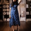 Thumbnail: Blue Ikat high low dress