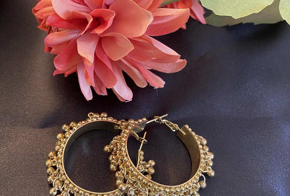 Gungroo earrings- Gold