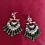 Thumbnail: Meenakari earrings- Green