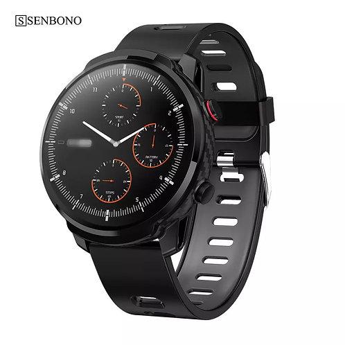 montre intelligente tactile hommes femmes sport horloge moniteur de fréquence ca