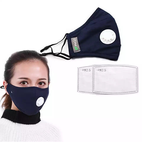 masque anti pollution enfant lavable