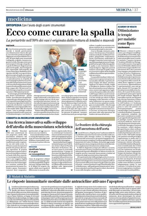 """Articolo: """"Il Giornale"""""""