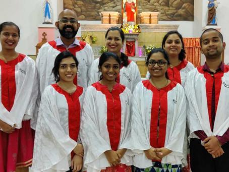 9th day Novena Choir at Bondel Church