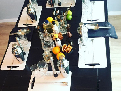 Cocktail workshop at your home