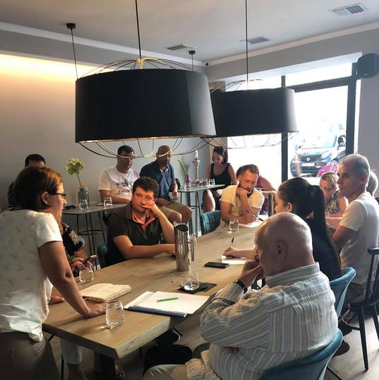 Projekta tikšanās Grieķijā