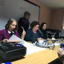 Pirmā projekta tikšanās Rumānijā