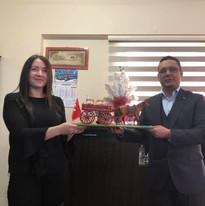 Projekta tikšanās Turcijā