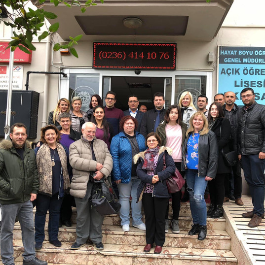 Transnational project meeting in Turkey