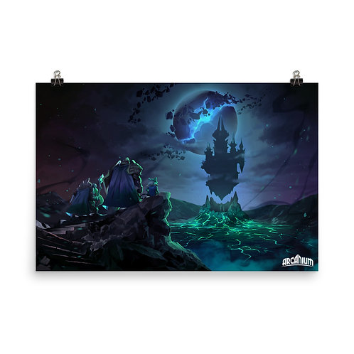 Limited Edition Poster 24x36 inches - Akhan's Lair
