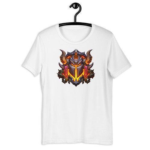 Short-Sleeve Unisex Premium T-Shirt - Scorched Lands Crest