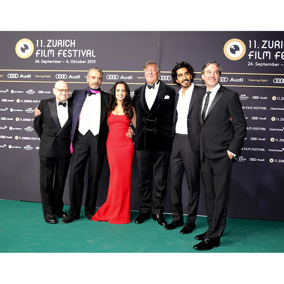 EdPressman ,Jeremy Irons, Devika Bhise , ,Stephen Fry Dev Patel, Matt Brown