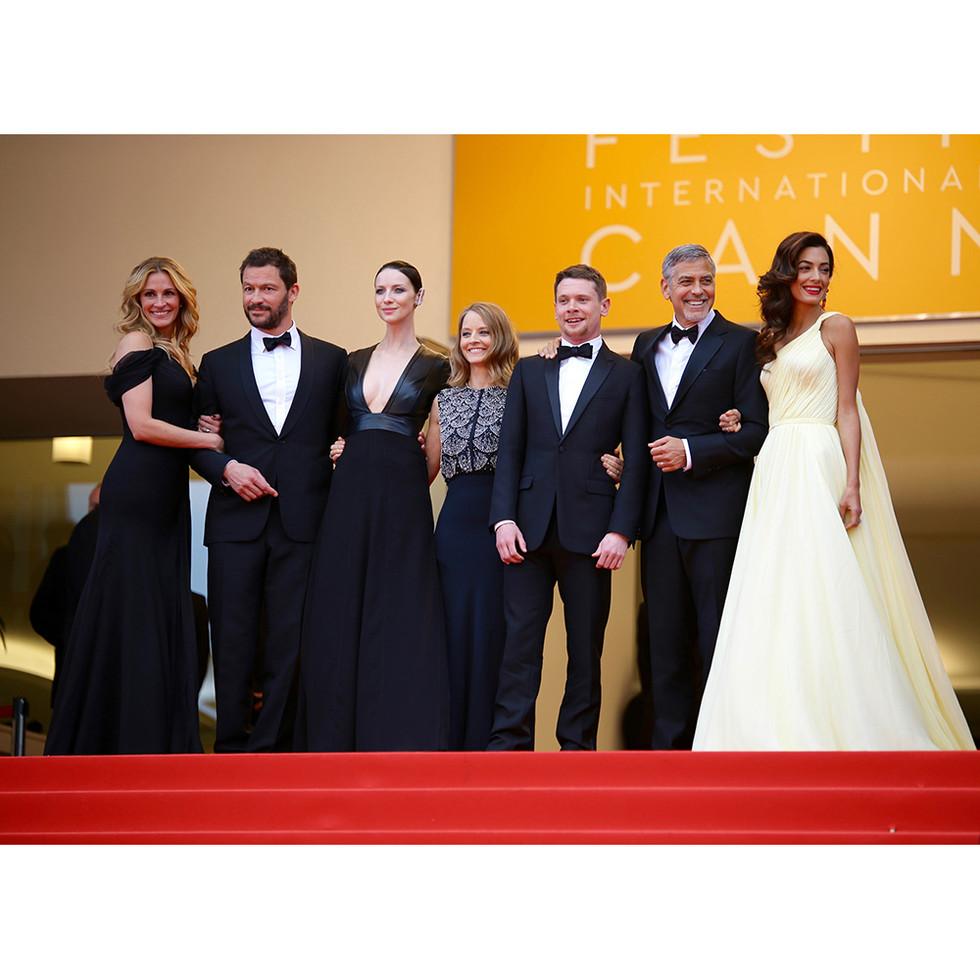 Julia Roberts Jodie Foster George & Amal Clooney