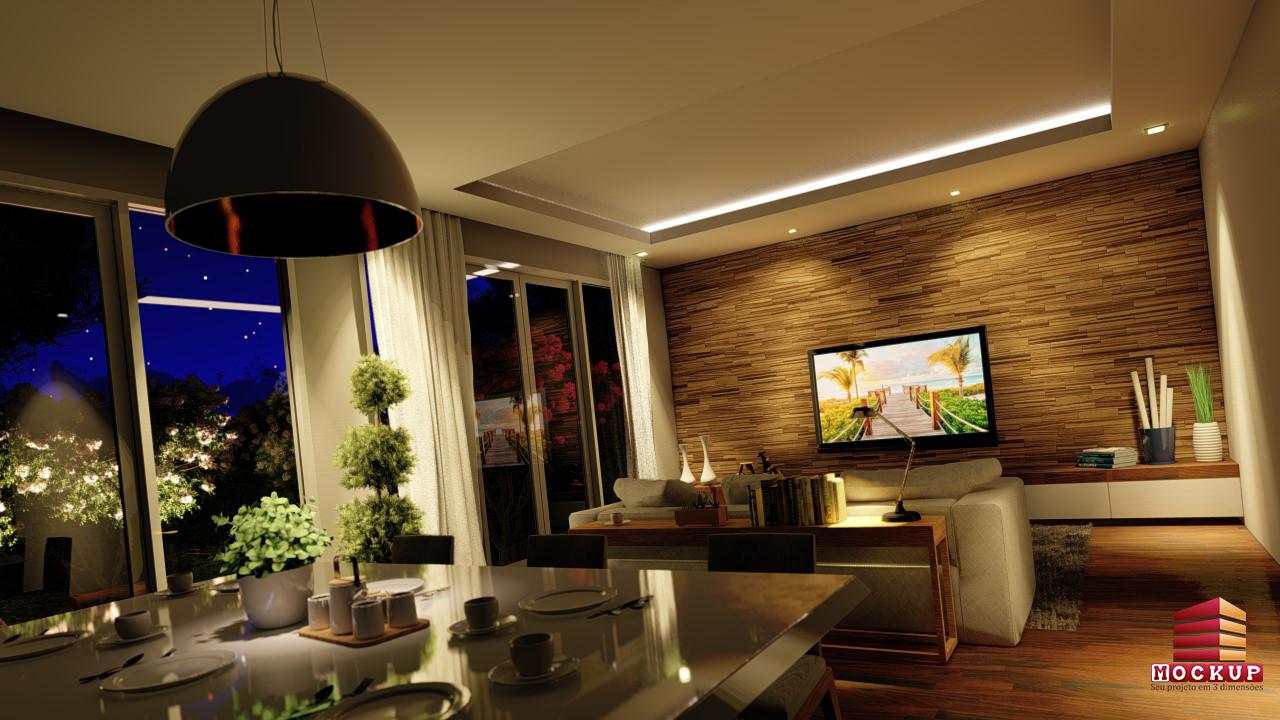 Sala, efeitos de iluminação
