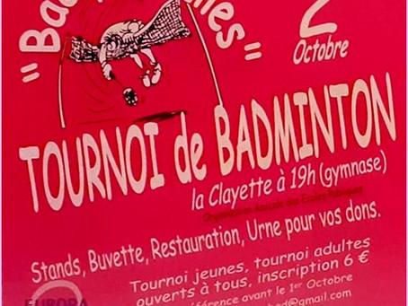 """""""Bad pour elles"""" : le fidèle tournoi !"""