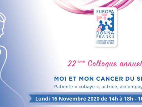 """Moi et mon cancer du sein : patiente """"cobaye"""", actrice, accompagnée"""