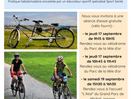 Cyclisme Santé...séances découvertes