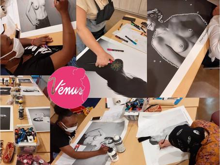 Ateliers Vénus 2020 : première participation pour le Centre social Bonnefoi !