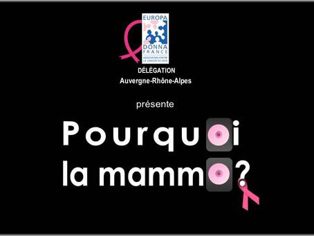 Clip made in Europa Donna AuRA pour inaugurer Octobre rose 2020