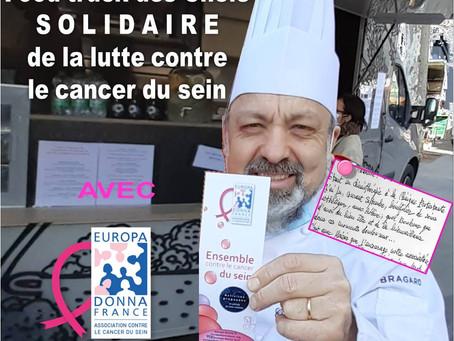 Bonne chère solidaire d'une belle cause !