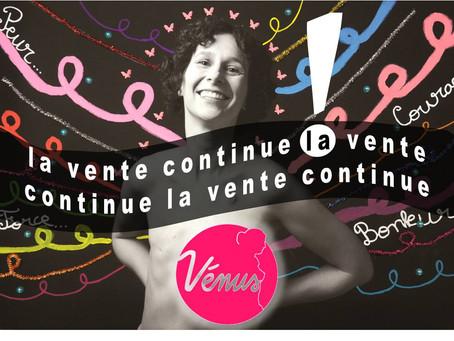 Pourquoi pas une œuvre Vénus en cadeau de fin d'année ? La vente continue !
