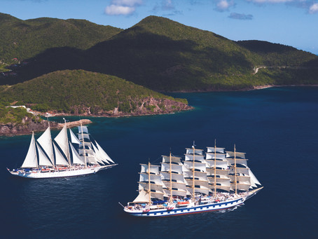 Sail Star Clippers for 0% Solo Supplement!