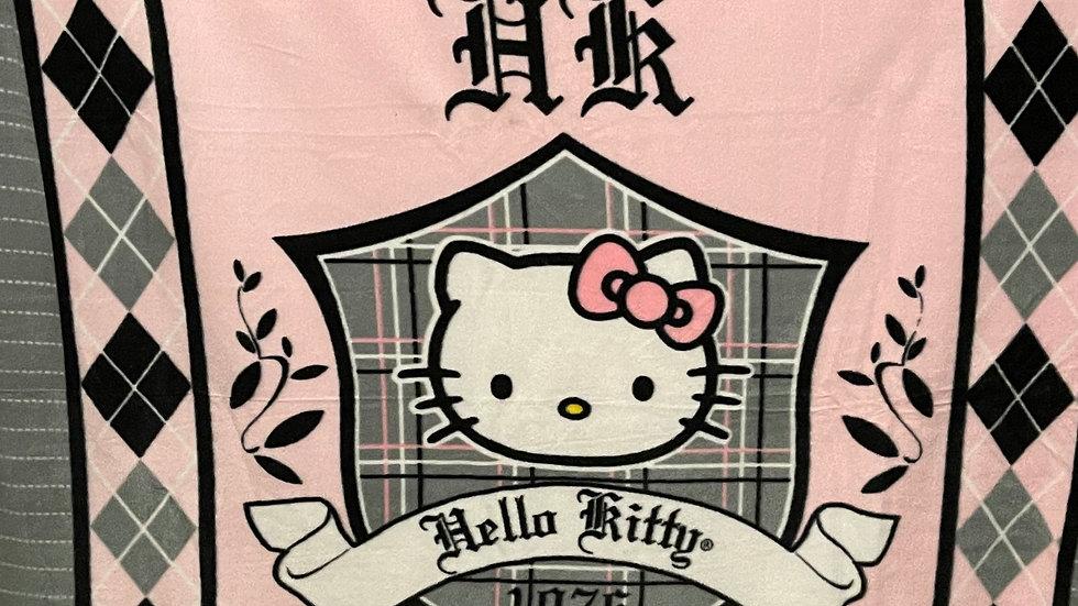 HELLO KITTY NO SEW THROW/Blanket!!!!