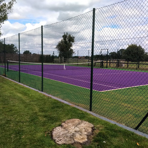 Fancy a Purple Tennis Court