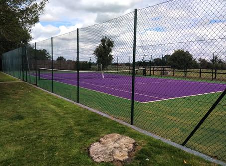 Fancy a Purple Tennis Court