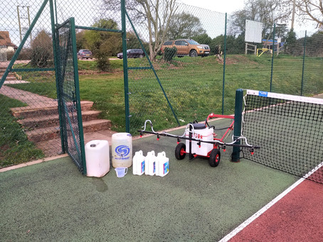 Is your Tennis Court ready for play after the winter?