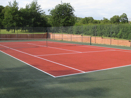 Tennis Court Refurbishment
