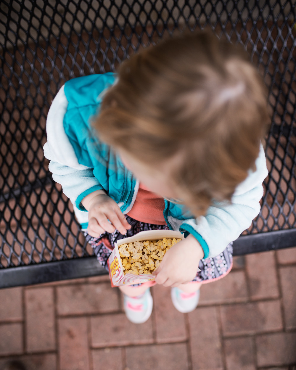 popcorn eating