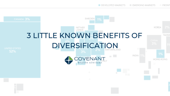 3 Little Known Benefits of Diversification