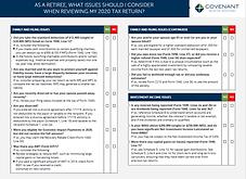 retirement checklist 2