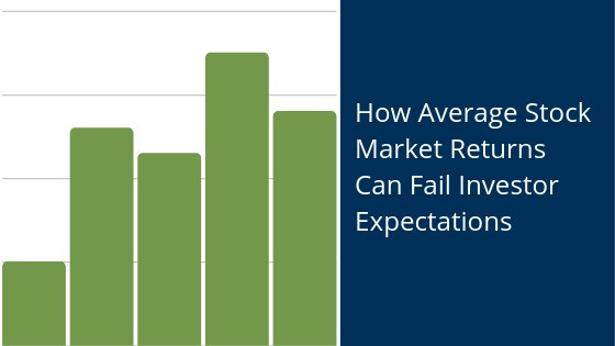 How average stock market returns can fail investor expectations