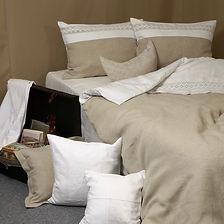 individuelle Bettwäsche aus Leinen