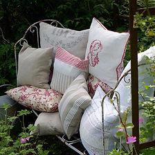 Kissen für wohnen und Garten