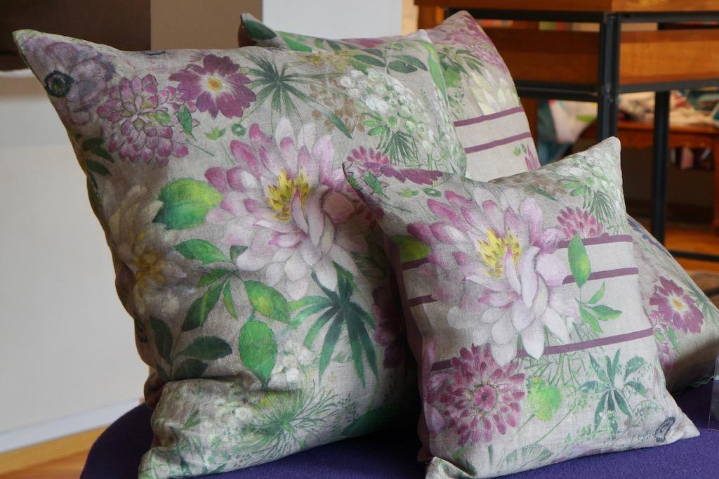 Blumengarten Bettwäsche Leinen