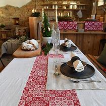 Leinen Tischwäsche auf Mass