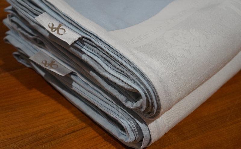 Textilien aus altem Leinen