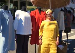Jessica Dörr Leinen Kleider