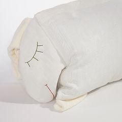 Kissen handbestickt Schaf