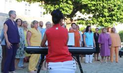 Jazzchor Kandern in Leinen