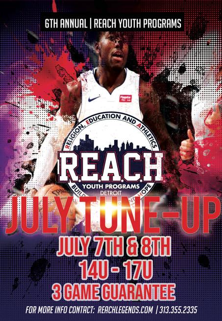 July TuneUp ~ July 7-8 Finalizing Schedule