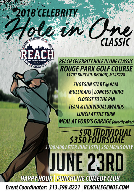 2018 Celebrity Golf Outing ~ June 23rd