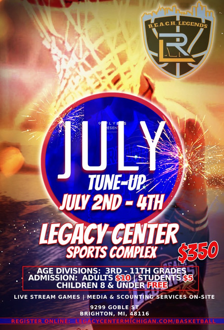Legacy Center 2021 July TuneUp