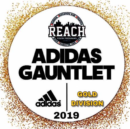 2019 Adidas Gold Gaunlet #BeALegend