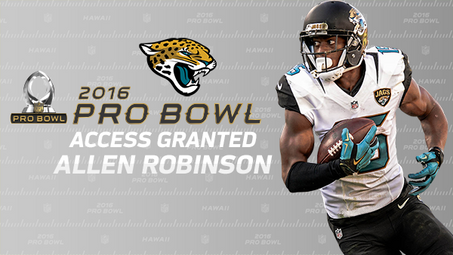 Allen Robinson named to NFL Pro Bowl