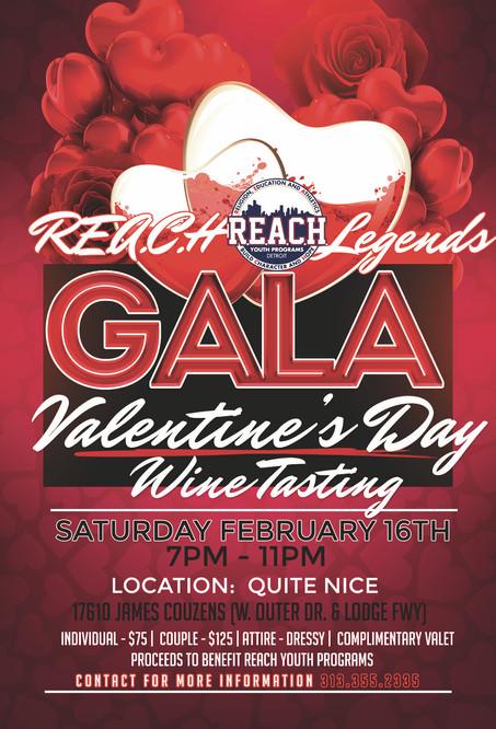 "2019 REACH ""Wine Tasting Gala"" Saturday, February 16th"