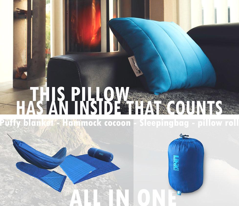 puffy blanket hammock cocoon sleepingbag
