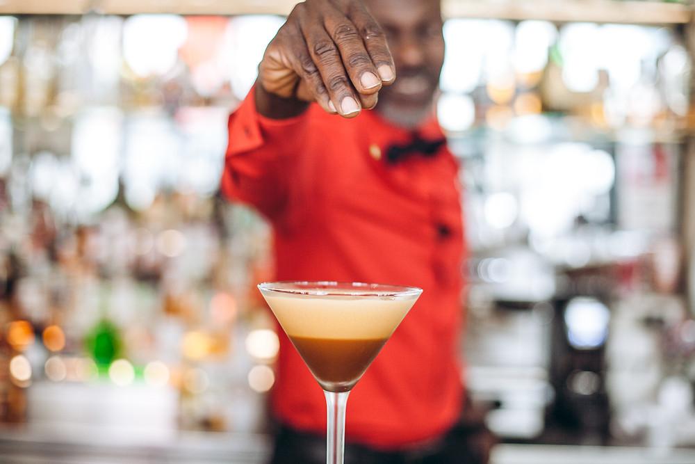 Barkeeper Prince im pancho Wien